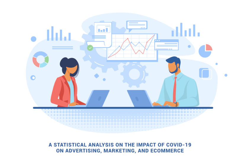 A statistical analysis on the impact of Covid-19 on Advertising, Marketing, and eCommerce